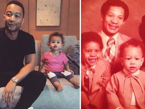Fans can't get over how freakishly like John Legend baby Luna looks: 'Chrissy gave birth to her husband'