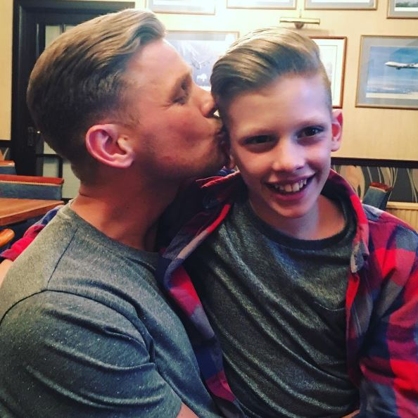 Jeff Brazier spends Christmas Day without youngest son after Freddie decided to 'keep Nan company'