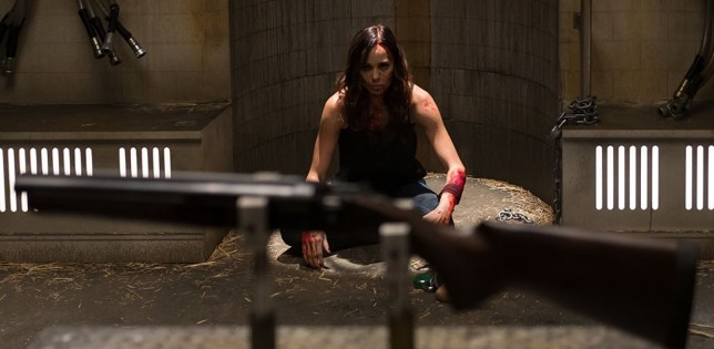 Laura Vandervoort in Jigsaw (Picture: Lionsgate)