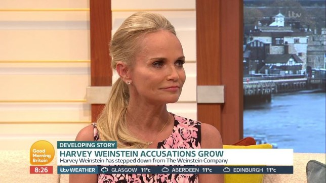 Kristin Chenoweth Refuses To Comment As She S Grilled About Harvey Weinstein Metro News