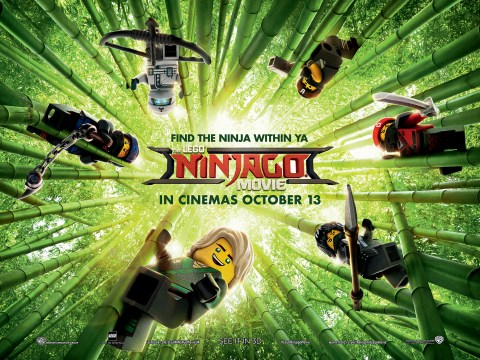 The Lego Ninjago Movie review – this toy ad doesn't quite connect