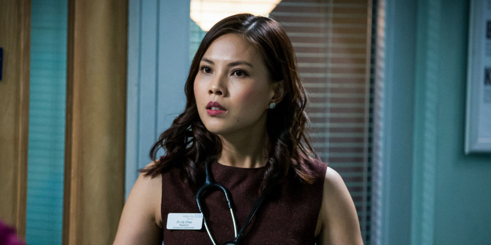 Casualty spoilers: Exit ahead for Lily Chao as she chooses her career over Iain Dean