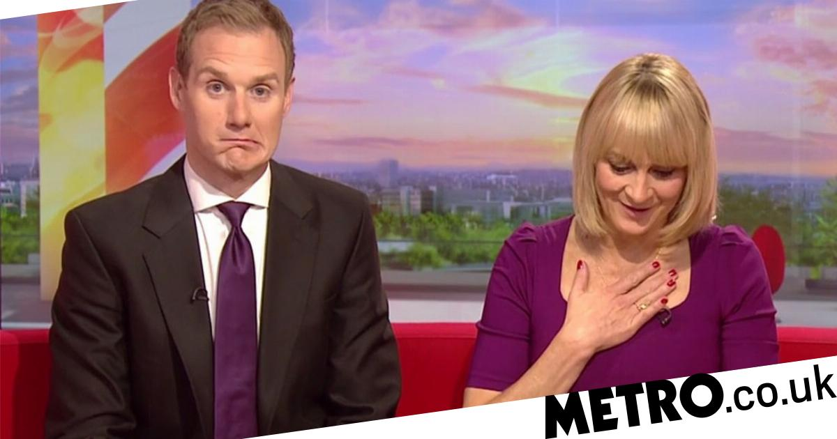 Louise Minchin accidentally swore on BBC Breakfast and it was a bit