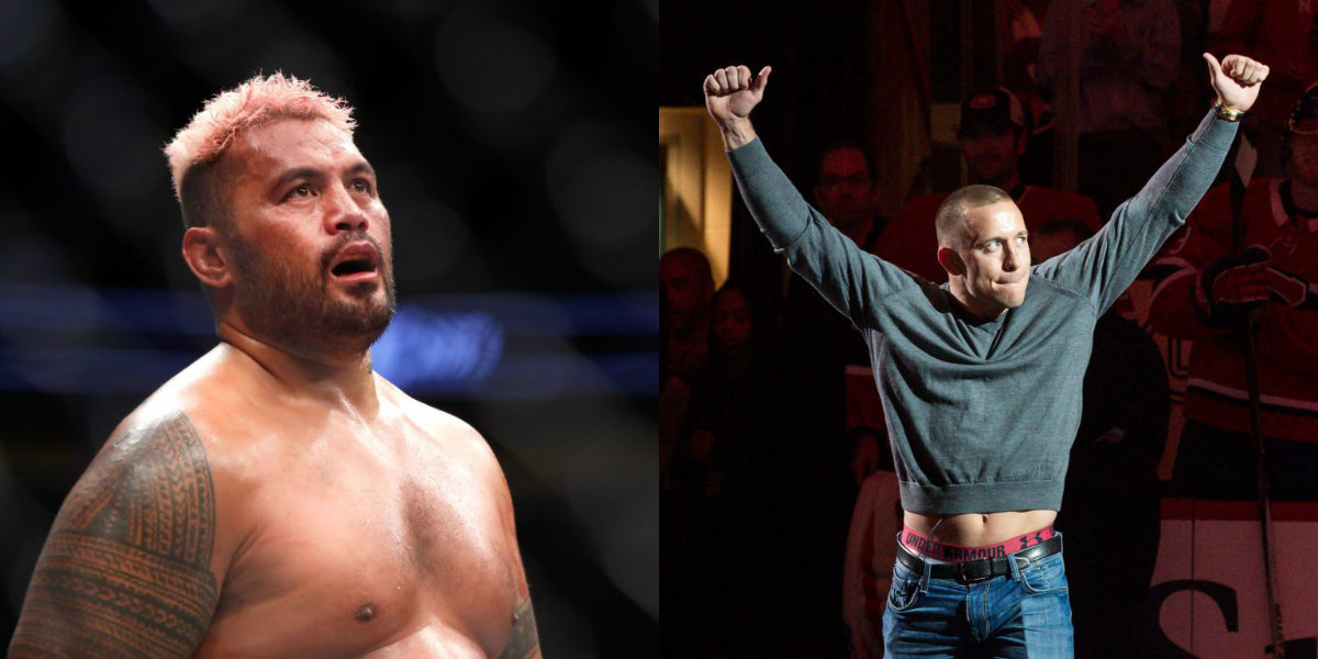 Mark Hunt questions why UFC legend Georges St-Pierre is allowed fight after alien encounter claims