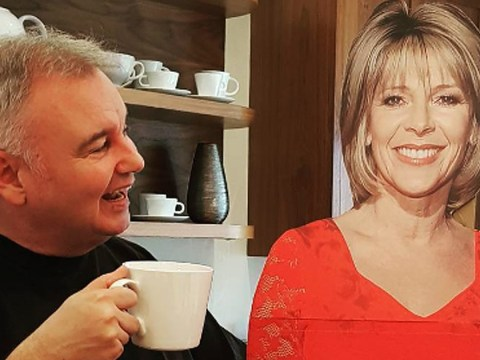 Eamonn Holmes gets cardboard cutout of Ruth Langsford so he doesn't miss her while she does Strictly