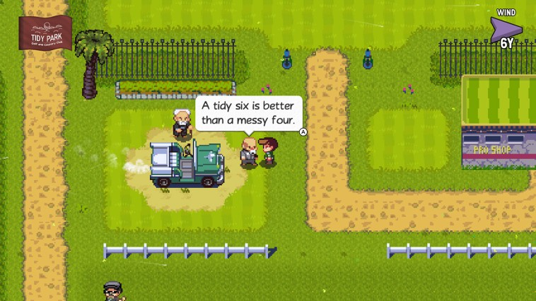 Golf Story (NS) - there's a reason it's not called Golf Sim