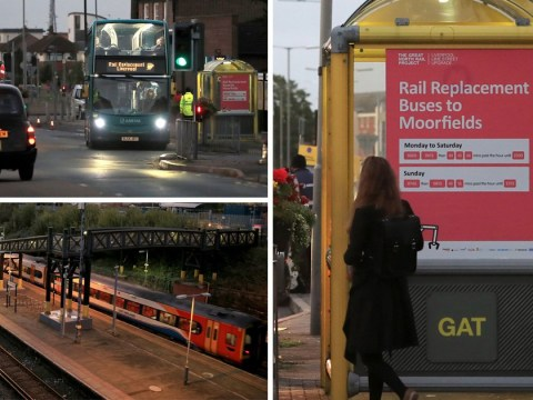 Rail strikes hit Liverpool in row about driver-only trains