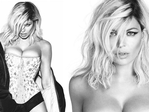 Fergie poses naked for new album weeks after announcing split from husband