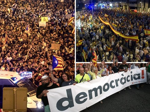 Catalonia referendum results show 90% of voters backed independence
