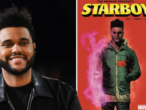 The Weeknd gets his own comic book with Marvel and we can't wait to get our hands on it