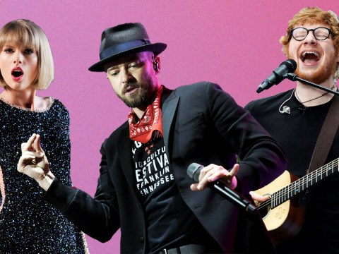 Fans reckon Justin Timberlake is working on new music with Ed Sheeran and Taylor Swift