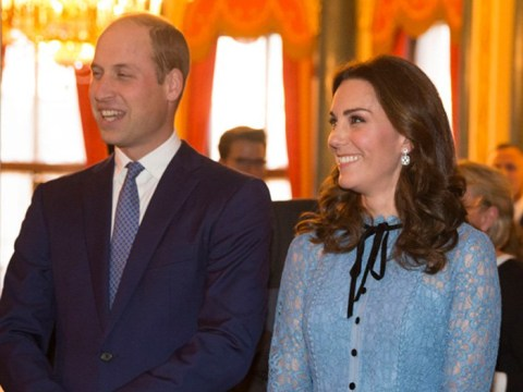 Kate braves severe morning sickness to make first appearance while pregnant