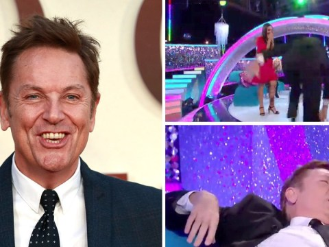 Brian Conley falls over live on Strictly's It Takes Two – it had to be Friday the 13th