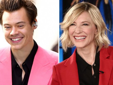 Cate Blanchett tells Ellen she wants to 'see Harry Styles naked' after its revealed that she's his style inspo