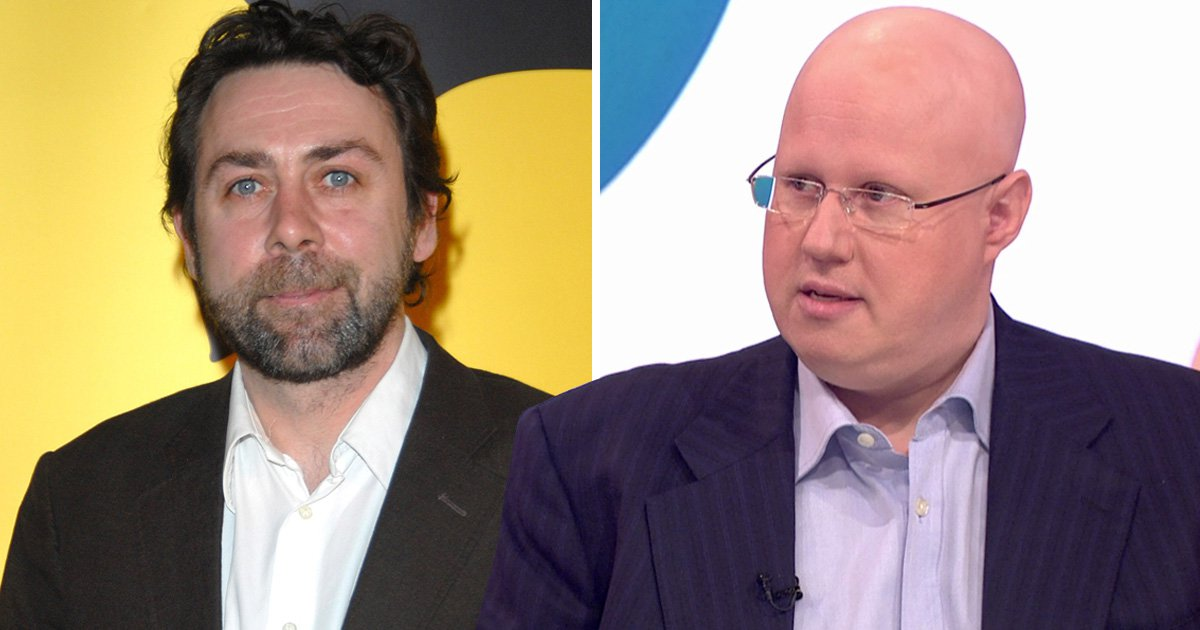 Matt Lucas interrupts live interview to pay tribute to the late Sean Hughes: 'He's an icon for my generation of comedians'