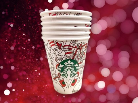 It's time to get festive: Someone's leaked the design of this year's Starbucks festive cups