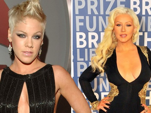 Christina Aguilera and Pink have recorded a secret duet putting an end to feud