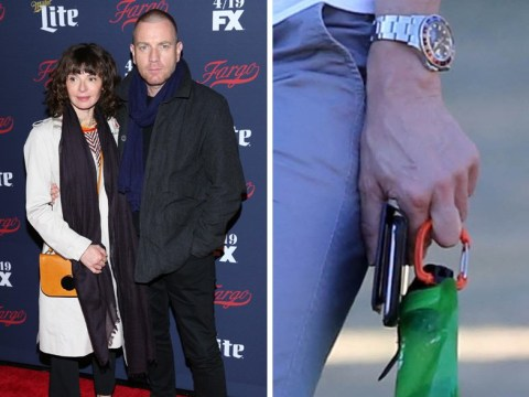 Ewan McGregor's wife Eve Mavrakis spotted without her wedding ring on following Mary Elizabeth Winstead kissing pictures