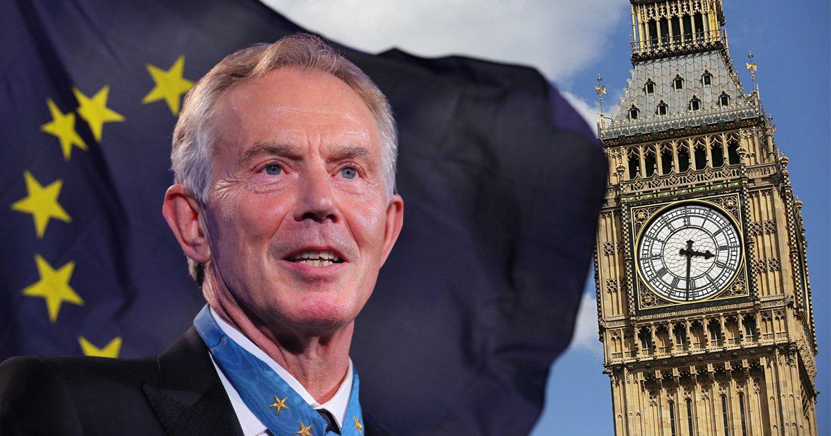Tony Blair calls on Angela Merkel and Germany to block Brexit