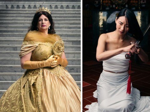 Photo series shows what Disney princesses would look like as queens
