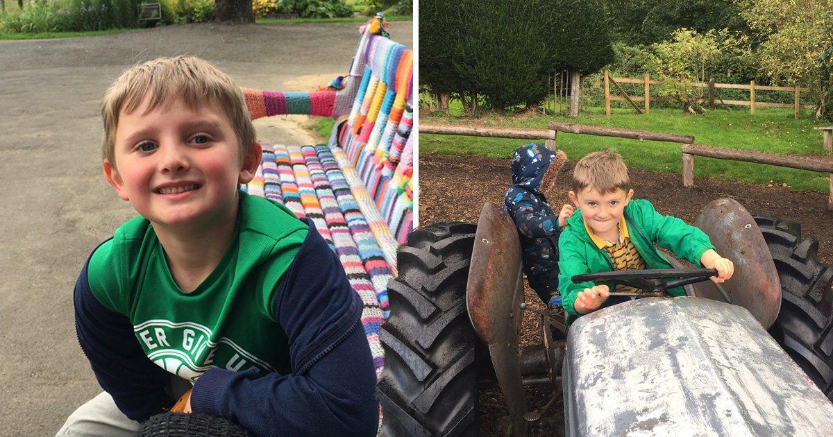 Boy, 6, donates his birthday money to war veterans after seeing advert