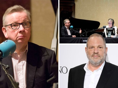 Michael Gove forced to apologise for Harvey Weinstein rape joke