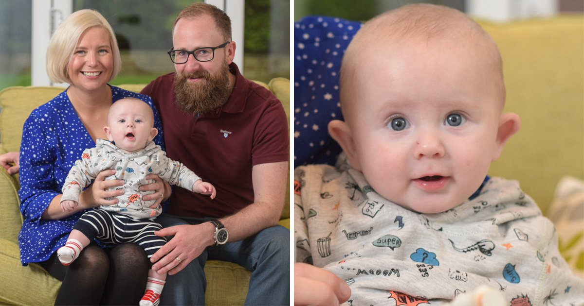 Couple trying for seven years finally have baby after dropping exercise