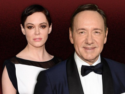 Rose McGowan leads celebrities and gay activists slamming Kevin Spacey's apology to Anthony Rapp