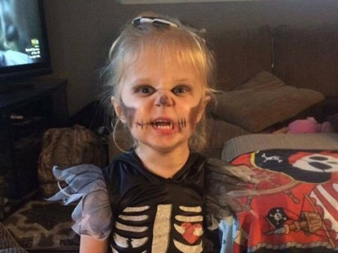 Girl, 3, shows off arm amputation with these badass Halloween costumes
