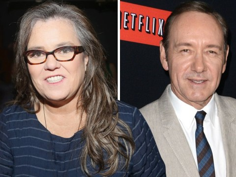 Rosie O'Donnell claims 'we all knew' about Kevin Spacey allegations as she compares him to Weinstein