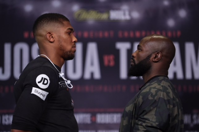 Anthony Joshua v Carlos Takam fight odds and how to watch it | Metro