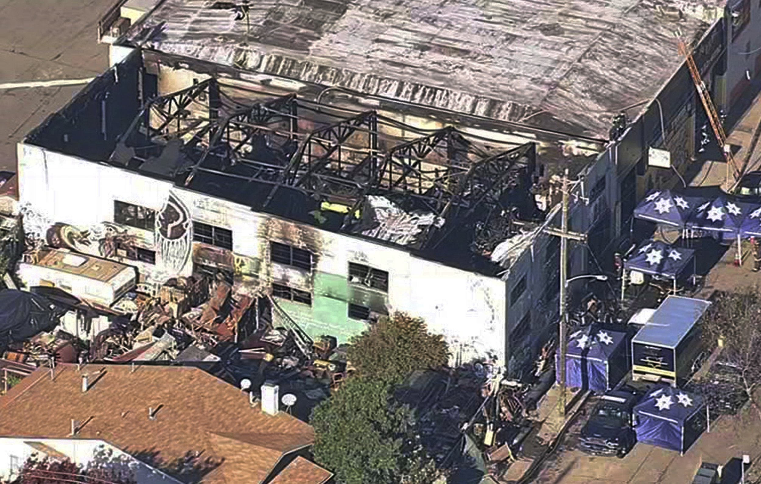 Owner of warehouse where 36 people died in fire is set for $3 million insurance payout