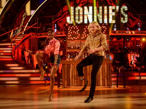 Jonnie Peacock's mum recalls Strictly star 'screamed and screamed' after his leg was amputated