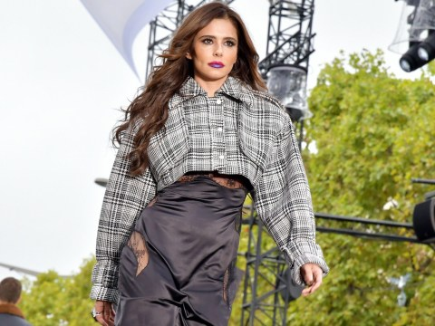 Cheryl dazzles the world of fashion as she walks down L'Oreal runway at Paris Fashion Week