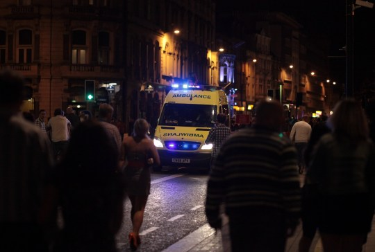 Drunks using ambulances as free taxis call it 'getting a Bluber