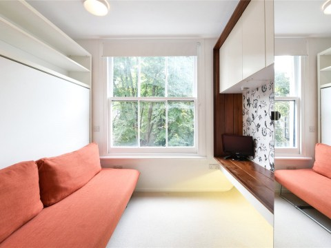 Broom cupboard is turned into studio flat in London and is on sale for £225,000