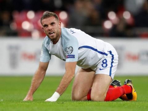 Liverpool star Jordan Henderson torn apart by England fans during Slovenia match