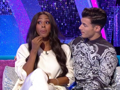 Injury on the dancefloor! Alexandra Burke reveals Strictly partner Gorka Marquez split her lip