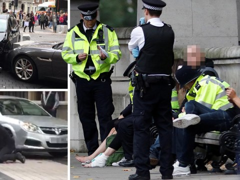 Eyewitnesses describe terrifying moment car mounted pavement at Natural History Museum