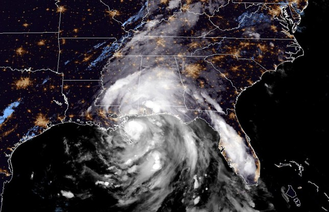 Hurricane Nate batters US Gulf Coast states sparking mass