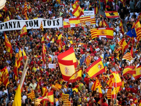 Catalan leaders held in jail over alleged sedition