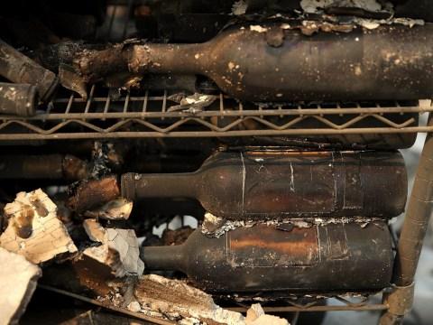 Wineries burn down as infernos tear through California's Napa Valley