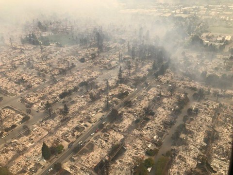 Where are the fires in California? Blazes kill ten as more than 100 are missing