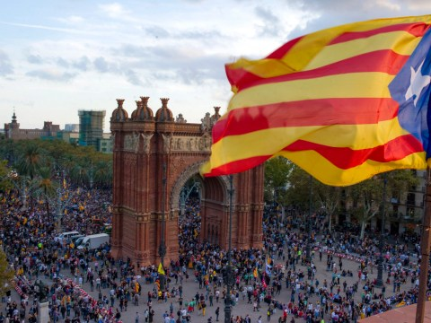 When did Catalonia become part of Spain and why do they now want independence?