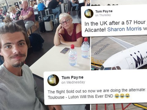Mum and son endure 57-hour return journey from hell after Monarch collapse