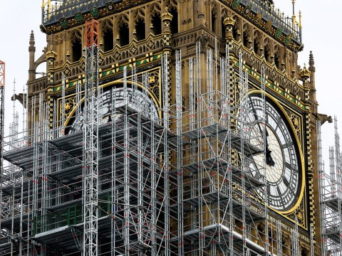 Big Ben chimes once again after a three-month break