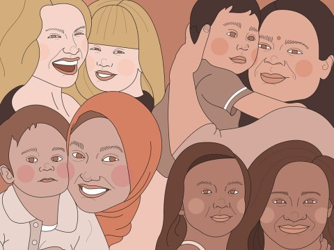 #MakeMotherhoodDiverse aims to draw attention to the many faces of motherhood