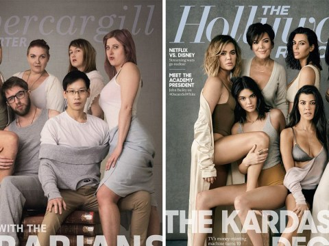 Ballsy librarians recreate the Kardashian family's 10th birthday photo because that's how they roll