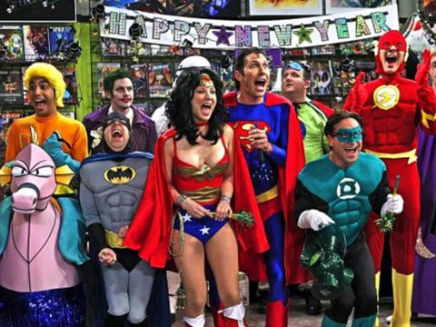 Did The Big Bang Theory just drop a major Justice League spoiler?