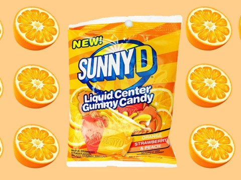 90s kids, rejoice: Sunny D fruit chews are now a thing